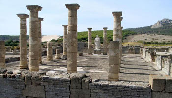 Roman ruins on the beach of Bolonia - Costa de la LUz