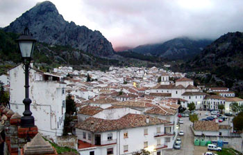 The main town of the natural park: Grazalema