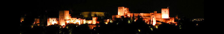 Alhambra by night.