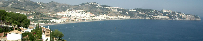Costa Tropical (the tropical coast), beaches of Granada - Andalusia, Spain.