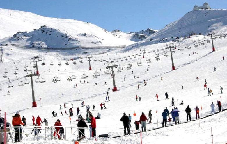 Pistas Ski Sierra Nevada Sierra Nevada Ski Station