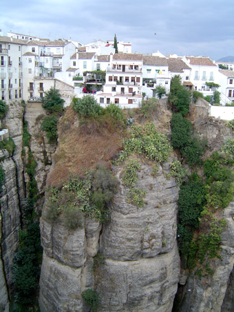 "Uitzicht over ""el Tajo"" in Ronda"