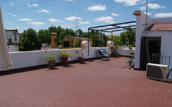 Alameda-Barco appartement - terras