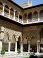 The royal Alcazar palace, Seville.
